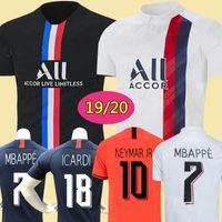 Wholesale kids soccer jersey sets for sale - Group buy Maillots de football kit PSG soccer jersey Paris MBAPPE ICARDI MARQUINHOS jersey camisetas de futbol shirt men kids sets