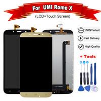 pantalla táctil de 5,5 pulgadas al por mayor-Para la pantalla LCD UMi Rome X y la pantalla táctil Digitalizador de 5.5 pulgadas Roma x LCD + herramientas gratuitas