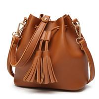 Wholesale orange shoulder bags resale online - Designer handbags Fashion Women Bags Hand bags Travel High Quality Real Leather Handbags Purse Shoulder Tote Female Purses