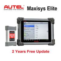 programador volvo obd2 al por mayor-Autel Maxisys Elite Diagnostic Tool MS908P Pro con Wifi Completo OBD2 Escáner automotriz con J2534 ECU Programador 2 años de actualización gratuita