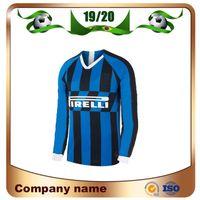960af30f9 inter milan away jersey 2019 - 2019 Inter Long sleeve Soccer Jersey 19 20  home Milan