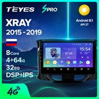 ingrosso touareg gps-TEYES SPRO Per LADA raggi X 2015 2016 2017 2018 2019 Radio Auto Video Multimedia Player GPS Navigation Android 8.1 Nessun 2DIN 2 DIN DVD DVD