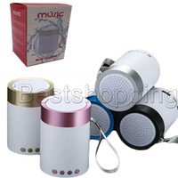 Wholesale mini bluetooth speakers for apple resale online - Mini Portable Subwoofer Wireless Bluetooth SpeakerCar Handsfree Receive Call Music Suction Mic For iPhone Samsung