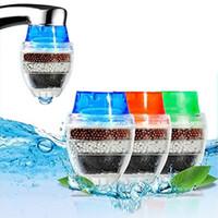 filtros de ar domésticos venda por atacado-16-19mm 21-23mm Filtro De Água De Limpeza Doméstica Mini Torneira Da Cozinha Purificador de Ar Filtro de Cartucho De Filtro De Água De Carvão Ativado