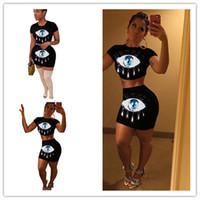 d847a06dd48 Wholesale sequin crop top skirt online - Women Sequin Tracksuit Sequined  Eye Sports Suit Summer Short