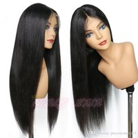 Wholesale best lace wigs sold for sale - Group buy Best Selling Products Brazilian Stright Lace Front Wigs Virgin Huamn Hair Non Processed Can Be Dyed