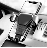 araba hücresi toptan satış-Araç Telefonu Tutucu arabada telefon Için iPhone XA 8 Için Montaj Tutucu Araba Cep Mobil Destek Telefon Tutucu Için Standı kaymaz