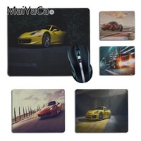 Wholesale cool mouse pads for sale - Group buy MaiYaCa Cool Yellow Sport Car Pattern Gamer Comfort small Mouse Mat Gaming Mouse pad Size for X29cm x22cm Gaming Mousepads