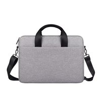 Wholesale laptop bags handles 13 resale online - 2020 New Large Capacity Laptop Handbag For Men Women Travel Briefcase Bussiness Notebook Bags Inch Macbook Pro PC