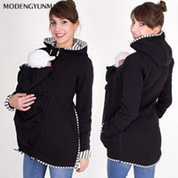 Wholesale winter clothes for maternity women for sale - Group buy MODENGYUNMA Maternity Coats Winter Jacket For Pregnant Women Outerwear Long Sleeve Solid Bring Children Outfits Clothing Jackets