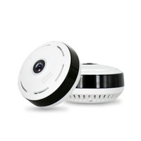 pc de câmera sem fio venda por atacado-Venda quente VRcam 360 graus sem fio Wi-Fi IP 1080P HD Mini Panoramic Camera Home Security camera 3601 Gravador de Voz Mini DV PC Cam