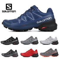zapatillas de running impermeables para mujer. al por mayor-2019 Nuevo Salomon Speedcross 5 CS para hombre mujer zapatos para correr entrenadores para hombre de alta calidad a prueba de agua deportes atléticos zapatillas para correr senderismo
