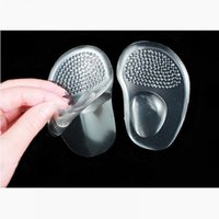 силиконовые метатарзальные подушечки оптовых-Soft Silicone Gel Ball Foot Cushion Insoles Metatarsal Support Insert Pad Shoes
