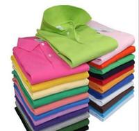 mode polo herren tops großhandel-Luxus Marke Designer Sommer Polo Tops Stickerei Herren Polo Shirts Mode Hemd Männer Frauen High Street Casual Top T
