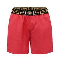 pantalones cortos para hombre relajados al por mayor-Nuevos pantalones de lujo para hombre Pantalones cortos de verano para playa Pantalones de chándal Homme relajados en blanco y negro 002 #
