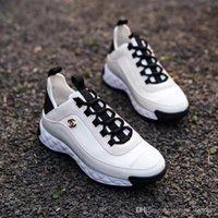 Wholesale shoe fashion item for sale - Group buy Platform fashion designer men s shoes women s shoes casual sneakers hot sale single item velvet calf leather and mixed fiber ivory