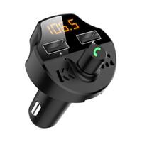 Wholesale Wholsale Car Bluetooth MP3 Player hands free cigarette lighter player Car Charger FM Transmitter CVC intelligent noise reduction Car Kit