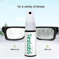 gafas de coche a prueba de agua al por mayor-20 ml Agente Antiniebla Para Gafas de Natación Máscaras de Buceo Gafas Impermeables Líquido Anit-niebla Aerosol Para Ventanilla Del Coche Baño Limpio