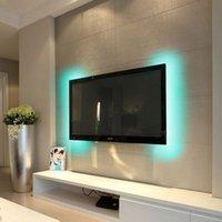 12v levou iluminação comercial venda por atacado-3528smd rgb barra de luz usb tv fundo luz bluetooth controle app dimmable bare board não é à prova d 'água