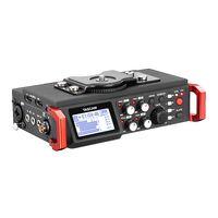 grabadora tascam al por mayor-TASCAM DR-701D Grabador / mezclador PCM lineal Audio de 6 pistas Grabador de campo para cámara DSLR Sistema de audio portátil Producción de video