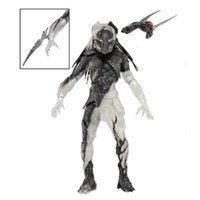 Wholesale predator toys resale online - NECA Falconer Predators Falconer Predator PVC Action Figure Collectible Model Toy with Removable Waist Blade