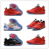 Wholesale sneakers c resale online - New Arrive Adapt BB High Black White Red Sports Basketball Shoes For High Quality Mens Comfortable Fashion Sports Sneakers US