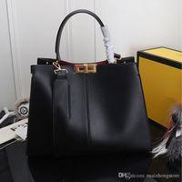 bolsa de couro real de mulher grande venda por atacado-desenhador da bolsa de luxo bolsas X Lit mulheres designer sacos FD totes moda grande capacidade de couro real da bolsa de luxo