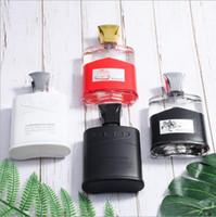 perfumes desodorantes venda por atacado-CREED Fragrâncias Perfume Dos Homens Perfume Parfum Perfume Desodorante Queimador De Perfume Incenso 100 ml 3.4 oz caixa de Presente de Natal xxp14