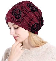 Wholesale pure spring hats for sale - Group buy King Star Womens Spring And Fall Cotton Hats Warm Knitted Outdoor Hike Hat Turban Cap Pure Color Caps Comfortable For Female And Male