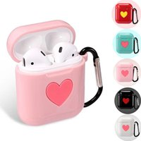 Wholesale cute headphones for sale - Group buy Cute TPU Silicone Case For Apple Air Pods Bluetooth Headphones Charging Box Protective Cover For Airpods