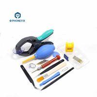 telefon-demontage-kit großhandel-PHONEFIX Multifunktions-Schraubendreher-Set Handy-Reparatur-Demontage-Tool-Kit für iPhone iPad Öffnungswerkzeuge