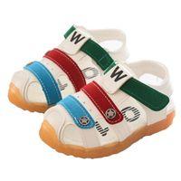 ingrosso i ragazzi hanno chiuso i piedi dei piedi-New Toddler Kids Neonate Boys Summer Closed Toe Scarpe da spiaggia Sandali Sneakers