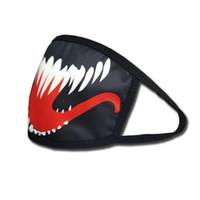 örümcek ağzı toptan satış-Maske Örümcek Adam Venom Ölümcül Guardian Filmi Tom Hardy Ağız Kapak Erkek Kadın Yaratıcı Maskeleri Fabrika Doğrudan Satış 2 85hp p1