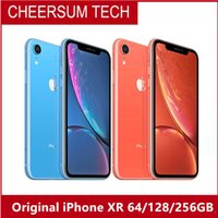 Wholesale front back iphone dhl online – custom Genuine Original Apple iPhone XR Factory Unlocked Mobile Phone face ID G LTE quot Hexa core MP MP RAM GB ROM GB GB GB free DHL