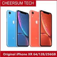 Wholesale free iphone phones online – refurbished Original Apple iPhone XR A12 Factory Unlocked Mobile Phone G LTE quot Hexa core MP MP RAM GB ROM GB GB GB free DHL