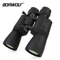 binoculares zoom al por mayor-Borwolf 10-180x90 Alta ampliación Hd Zoom profesional Potentes prismáticos Visión nocturna para cazar telescopio monocular T190627