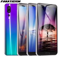 große knopf handys großhandel-Fanatismus-Qualitäts-intelligentes Telefon 6.1inch MTK6580 Viererkernkern 1GB RAM 8GB ROM-Mobiltelefon Android 8.1 entriegeltes 3G-Mobiltelefon