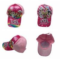 boys cap cap toptan satış-Sıcak Çocuk Beyzbol Şapkası Çocuk Erkek Kız Karikatür baskı sivri şapka ayarlanabilir kap 2 renkler MMA2243