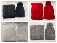 nuevos gorros calientes al por mayor-bufanda nuevos hombres y mujeres calientes de alta calidad sombrero del diseñador serie de calentamiento de alta gama de accesorios de moda europeas bufanda del sombrero de marca sudaderas Gorros