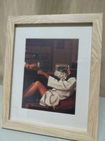 Wholesale traditional framed oil paintings resale online - The Erotic Collection Pictures inch Framed Jack Vettriano Home Decor HD Print Oil Painting On Canvas Wall Art Canvas Pictures