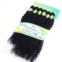 ombre бразильские курчавые курчавые выдвижения волос оптовых-16