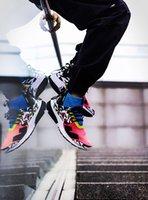 ingrosso stivali mens mid top-New High Top Scarpe da corsa di ACRONYM X Presto Mid V2 Mens Giallo Nero Scarpe da tennis di Darts Street MENS verde Scarpe da donna Camouflage Graffiti 36-46