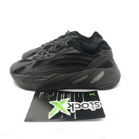 sürüm sim toptan satış-PK Sürüm 700 Vanta Erkekler Koşu Ayakkabı Kadınlar Tasarımcı Sneakers 700 Geode 3 M Yansıtıcı Yardımcı Siyah Atalet Dalga Koşucu Statik Waveru