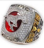 ingrosso souvenir fan di calcio-2018 2019 Calgary Stampeders CFL Football The Gray Cup Championship Ring Souvenir Men Fan Gift 2019 Drop Shipping all'ingrosso