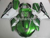 Wholesale yamaha r1 white green resale online - ZXMOTOR High quality fairing kit for YAMAHA R1 white black green fairings YZF R1 CV25