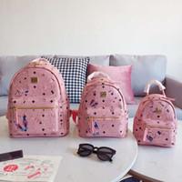 mochila de palhaço venda por atacado-Ms Faculdade Ao Ar Livre Sacos De Escola Para Meninas Adolescentes Laptop Ombros de Alta-capacidade Joker Bag Handbag Designer Mochilas de Viagem Mochila