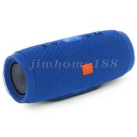 ingrosso radio blu-Altoparlante blu a prova di spruzzi JBL charge3 Altoparlante bluetooth plug-in a doppia membrana portatile a doppia membrana portatile senza spese di spedizione