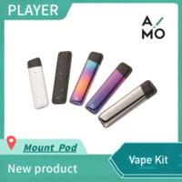 e mount achat en gros de-Batterie de 400mAh de cigarette de stylo e de Vape de kit de bâti de OVNS AIMO avec la cartouche 1.8ml de cartouches rechargeables de bobine