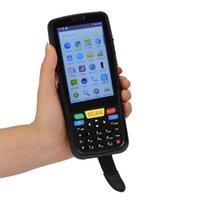 bluetooth daten großhandel-P6S UHF RFID-Lesegerät Einzelhandelsmanagement PDA Android Warehouse Barcodescanner Handheld Terminal Data Collector