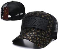 Wholesale trucker cap for sale - Group buy New brand mens designer hats Snapback adjustable baseball caps Summer luxury lady fashion hat summer trucker casquette women causal ball cap